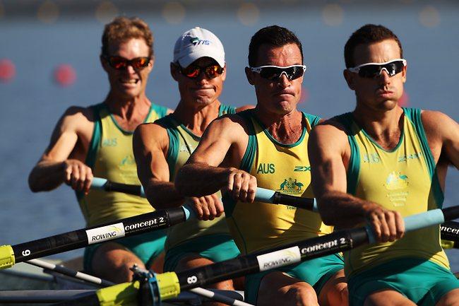Australië Coxless Four